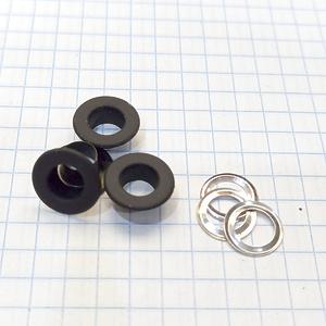 Блочка 3 плоская черная