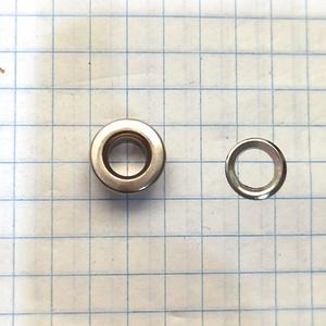 Блочка 3 плоская никель