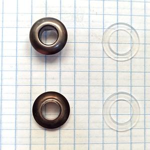 Блочка 4 сферическая темный никель