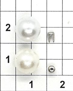 Жемчуг 8мм белый