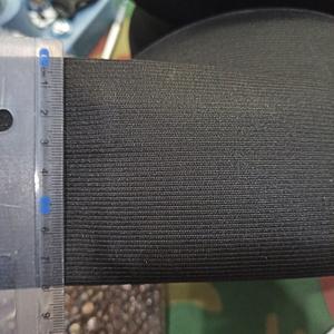 Резинка 80мм черная
