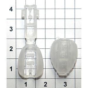 Колокольчик 3224 капля прозрачный