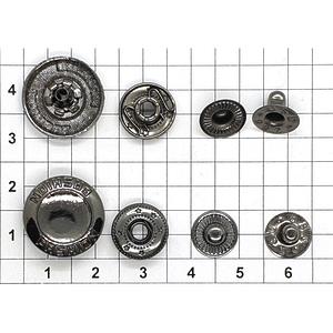 Кнопка 34 Fashion темный никель