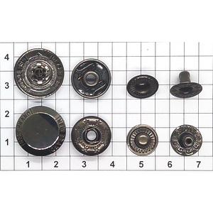 Кнопка 34 NewBrand тёмный никель