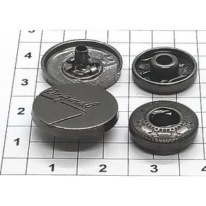 Кнопка 34 Original темный никель