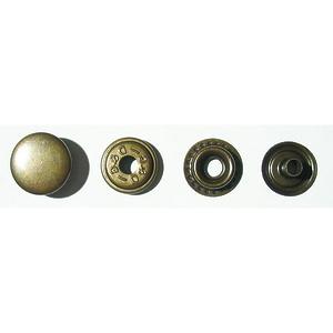 Кнопка №61 15мм антик кольцевая