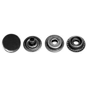 Кнопка тип 61 15мм темный никель кольцевая