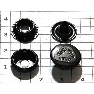 Кнопка №61 15мм оксид кольцевая