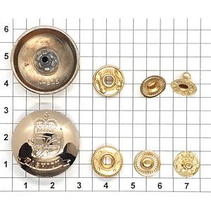 Кнопка 905 25мм FASHION корона