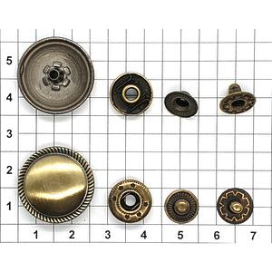 Кнопка AN-20 антик
