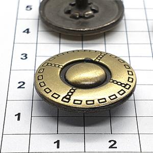 Кнопка B129 антик