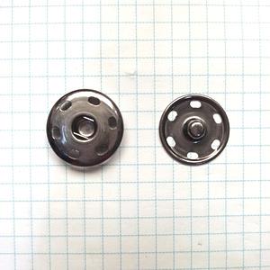 Кнопка пришивная 21мм темный никель