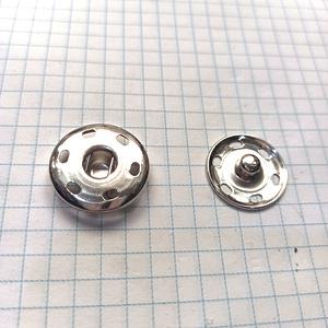 Кнопка пришивная 21мм никель