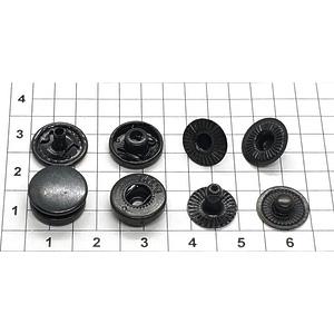 Кнопка альфа 12.5мм оксид №54 рубашечная