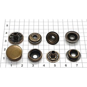 Кнопка тип 61 15мм антик кольцевая