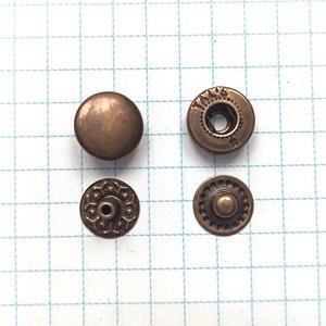 Кнопка альфа 10.5мм антик VT-2 кошелечная