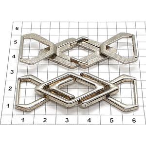 Карабин D10 никель