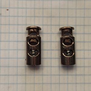 Зажим фиксатор 3351 темный никель